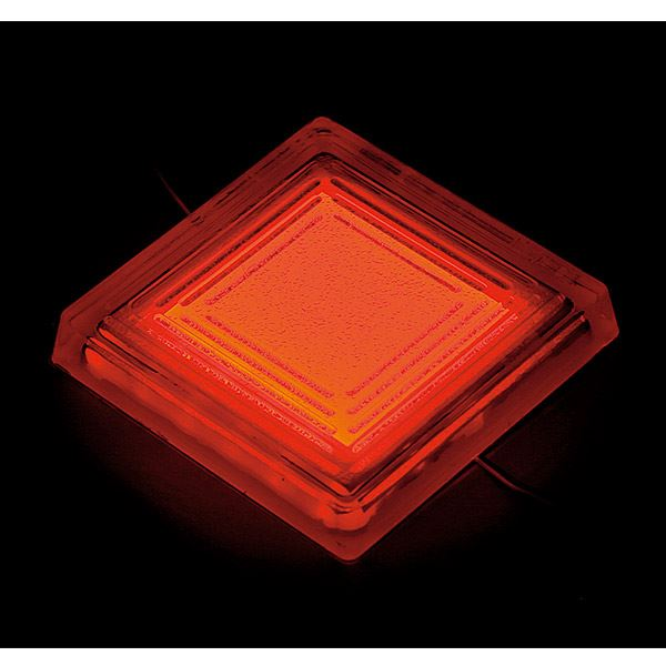 タカショー タイルドライト(ローボルト) スタンダードカラー TLD-J05R #48852000 *LED交換不可・別途レベル調整台が必要 『エクステリア照明 ライト』 LED色:赤