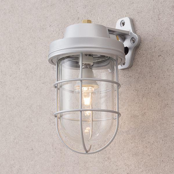 タカショー マリンライト(ローボルト) ブラケットタイプ HBF-D18S #73345300 『エクステリア照明 ライト』 パールシルバー