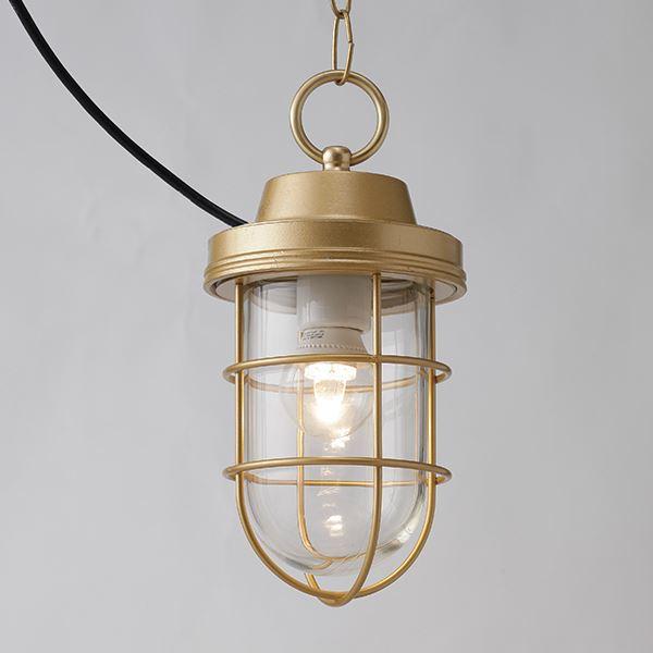 タカショー マリンライト(ローボルト) ペンダントタイプ HBF-D19X #73349100 『エクステリア照明 ライト』 シャインゴールド