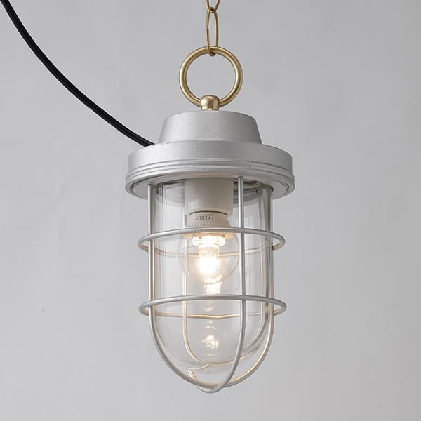 タカショー マリンライト(ローボルト) ペンダントタイプ HBF-D19S #73348400 『エクステリア照明 ライト』 パールシルバー