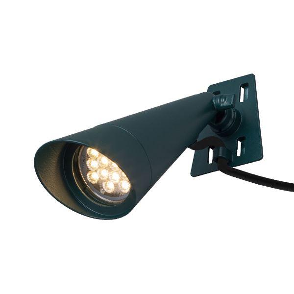 タカショー ガーデンツリースポットライト(ローボルト) 1型 ルーラルグリーン HBB-D10R #71490200 『エクステリア照明 ライト』 LED色:電球色