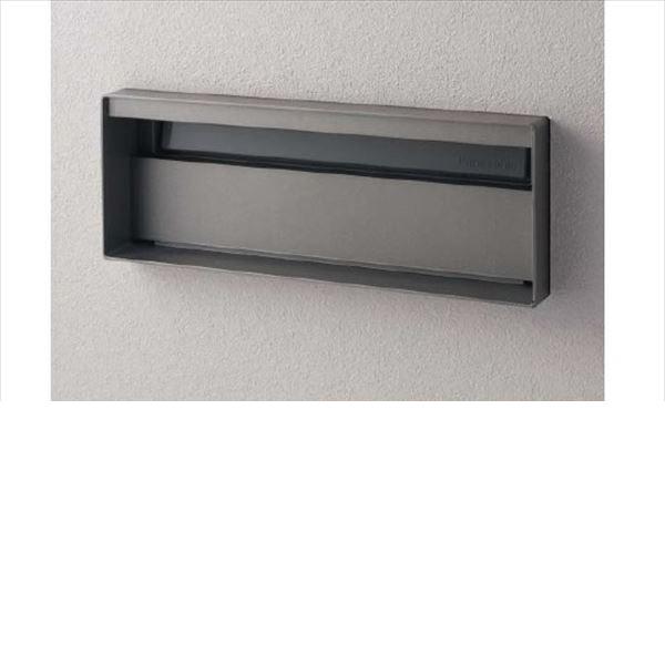 パナソニック ユニサス ブロックスリムタイプ 2Bサイズ CTBR7721SC ワンロック錠 表札スペースのみ 『郵便ポスト』 ステンシルバー