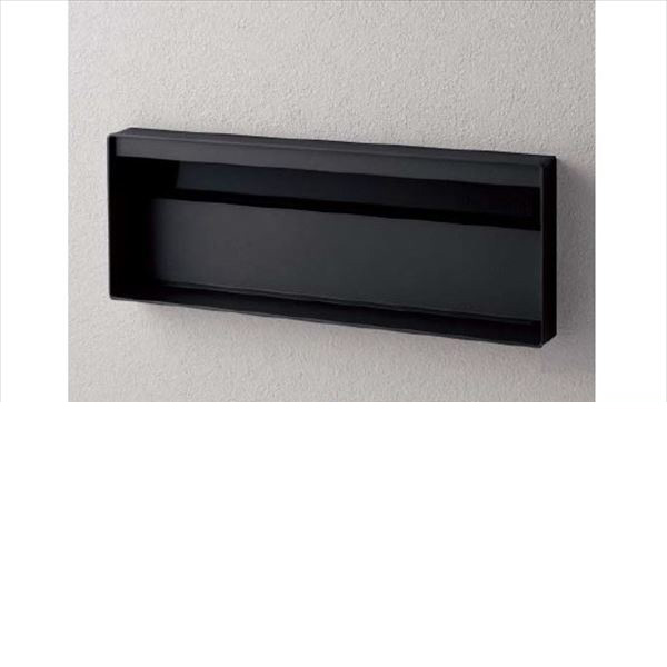 パナソニック ユニサス ブロックスリムタイプ 2Bサイズ CTCR7721TB ダイヤル錠 表札スペースのみ 『郵便ポスト』 鋳鉄ブラック