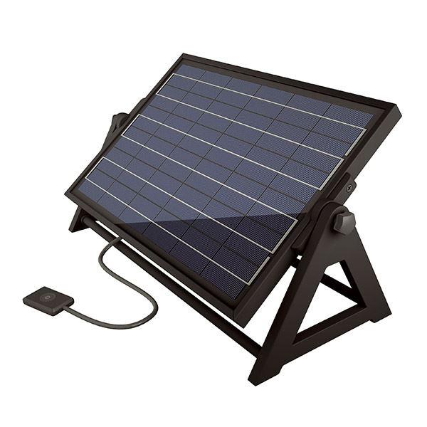 タカショー ソーラーライト ソーラーガーデンダイレクト 20W ハイブリッド HCC-002K #61746300 『ローボルトトランスと併用すれば、ハイブリッドに!』 『エクステリア照明 ライト』
