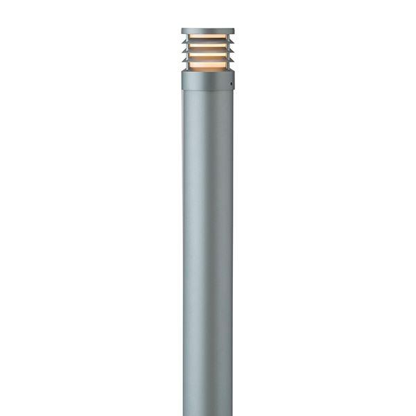 タカショー ポールライト(100V) スタイルポールライト 15型 ルーバー HFD-D49L #71689000 『エクステリア照明 ライト』 スレートシルバー