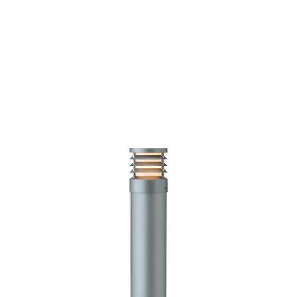 タカショー ポールライト(100V) スタイルポールライト 16型 ルーバー HFD-D50L #71691300 『エクステリア照明 ライト』 スレートシルバー