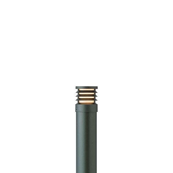 タカショー ポールライト(100V) スタイルポールライト 16型 ルーバー HFD-D50C #71690600 『エクステリア照明 ライト』 チャコールグリーン