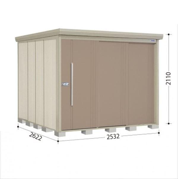 史上一番安い タクボ物置 ND/ストックマン 側面棚 ND-2526Y 一般型 標準屋根 『追加金額で工事も可能』 『屋外用中型・大型物置』 カーボンブラウン, GNINE 7fce01de