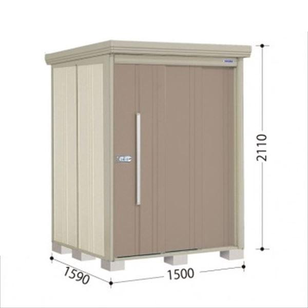 タクボ物置 ND/ストックマン 側面棚 ND-Z1515Y 一般型 結露減少屋根 『追加金額で工事も可能』 『屋外用中型・大型物置』 カーボンブラウン