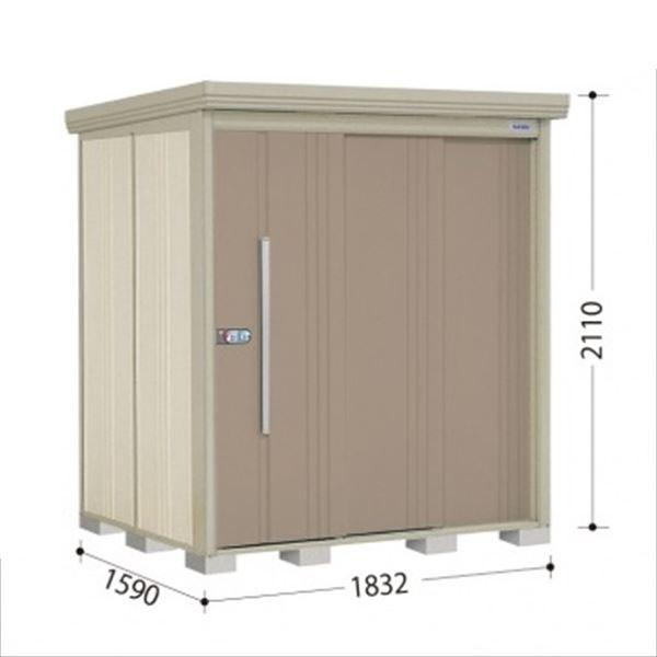 タクボ物置 ND/ストックマン 側面棚 ND-Z1815Y 一般型 結露減少屋根 『追加金額で工事も可能』 『屋外用中型・大型物置』 カーボンブラウン