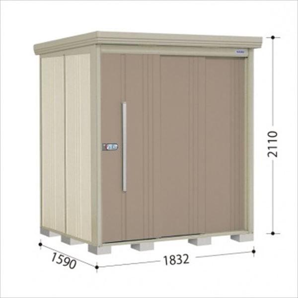 タクボ物置 結露減少屋根 ND/ストックマン 大型』 カーボンブラウン ND-SZ1815Y 『収納庫 中型 『追加金額で工事可能』 屋外 側面棚 倉庫 多雪型