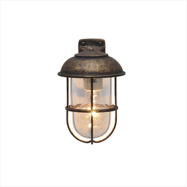 オンリーワン 真鍮製ポーチライト BR5000 AN CL クリアーガラス 古色仕上 GI1-700337 『エクステリア照明 マリンライト』