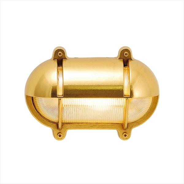 オンリーワン 真鍮製ポーチライト BH2435 CL LE クリアーガラス(LED仕様) GI1-700224 『エクステリア照明 マリンライト』