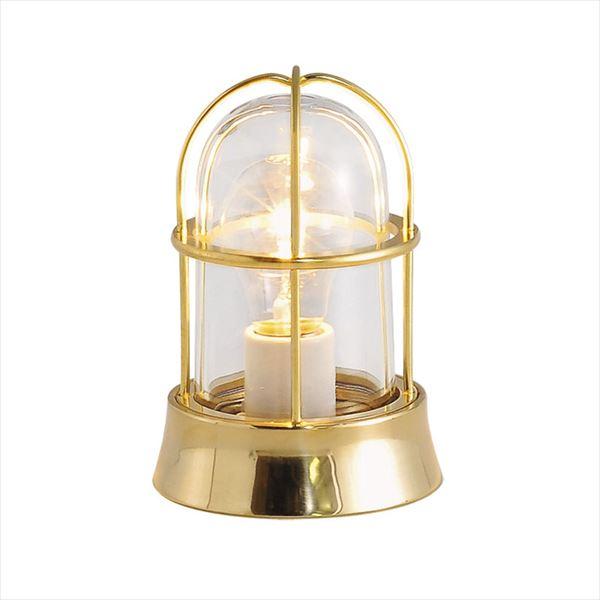 オンリーワン 真鍮製ポーチライト BH1000 CL 磨き仕上/クリアーガラス/白熱電球仕様 GI1-700121 『エクステリア照明 マリンライト』