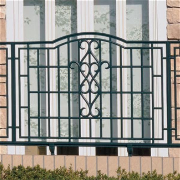三協アルミ 鋳物フェンス ジョイラルB型 本体 1008 フリー支柱タイプ 『アルミフェンス 柵』