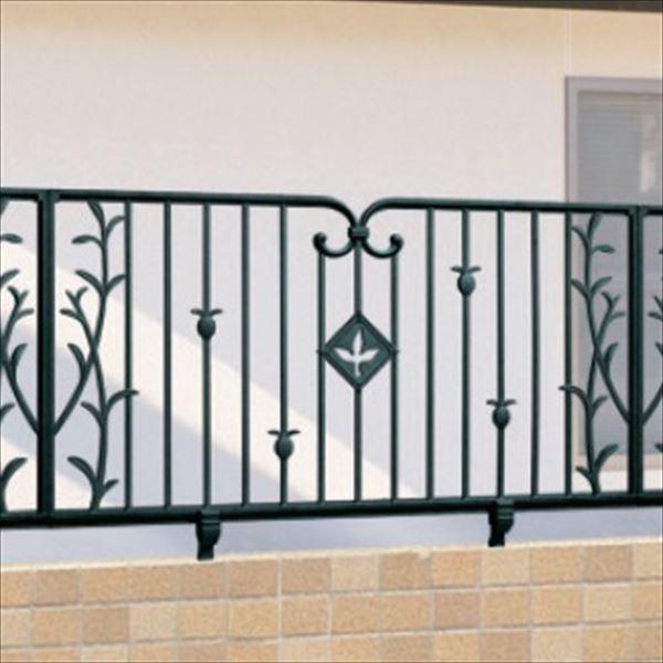 三協アルミ 鋳物フェンス ハーベリー4型 本体 1008 フリー支柱タイプ 『アルミフェンス 柵』