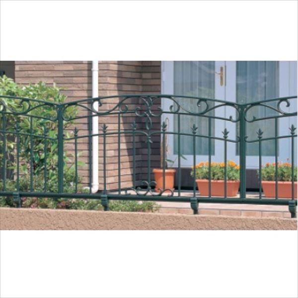 三協アルミ 鋳物フェンス キャスリート7型 本体 1006 フリー支柱タイプ 『アルミフェンス 柵』