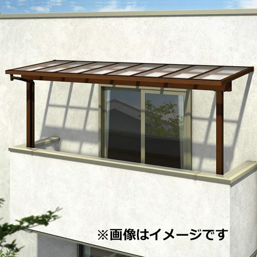 YKK ap サザンテラス フレームタイプ 2階用 関東間 600N/m2 3.5間×3尺 (2連結) 熱線遮断FRP板