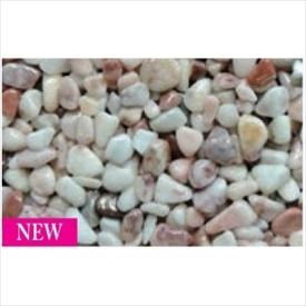 オンリーワン ペイブリーフロア 1平米セット 『自然石+ウレタン樹脂+滑り止めのセットです』 NX2-PF013 『外構DIY部品』 ローズ