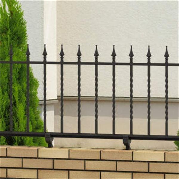 三協アルミ 鋳物フェンス キャスタイル1型 本体 1004 フリー支柱タイプ 『アルミフェンス 柵』