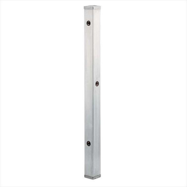 カクダイ 水栓柱(ステンレス) ステンレス水栓柱 分水孔つき(60角) 624-115 『水栓柱・立水栓 蛇口は別売り』