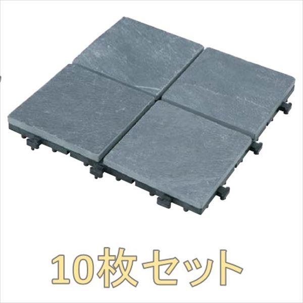 『ベランダガーデン向け』 タカショー ジョイントタイル 15×4 10枚セット #40578700 JBG-JTB4P ブラック