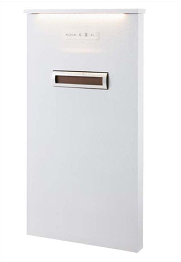 トーシン 機能門柱 レジェール800 (LED照明付き笠木タイプ) 組合せ例 P30-1 GW-LGR800-L-WH