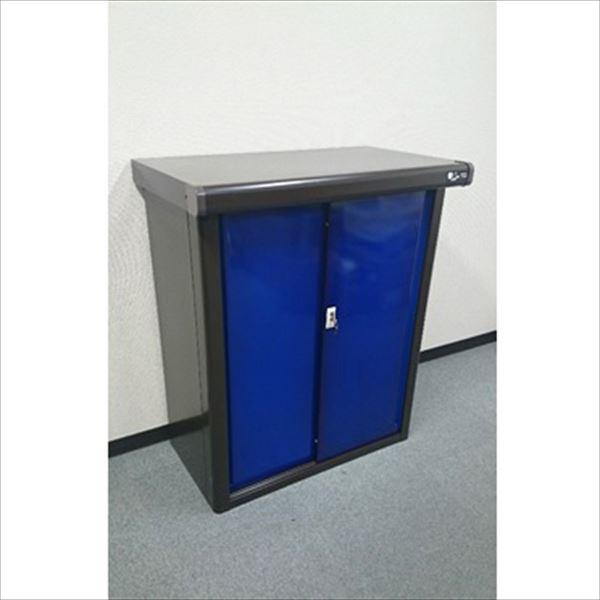 配送条件限定商品 ダイマツ プレミアム収納庫 DM-0905B  物置  『おしゃれ 小型 物置 屋外 DIY向け』 ブルー