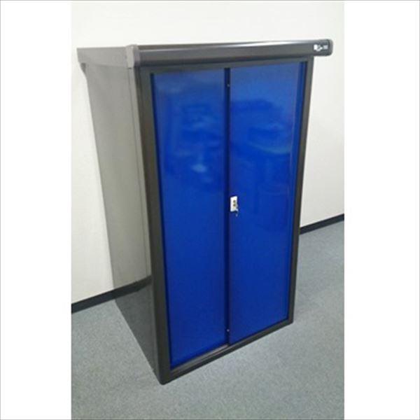 配送条件限定商品 ダイマツ プレミアム収納庫 DM-0975B  物置  『おしゃれ 小型 物置 屋外 DIY向け』 ブルー