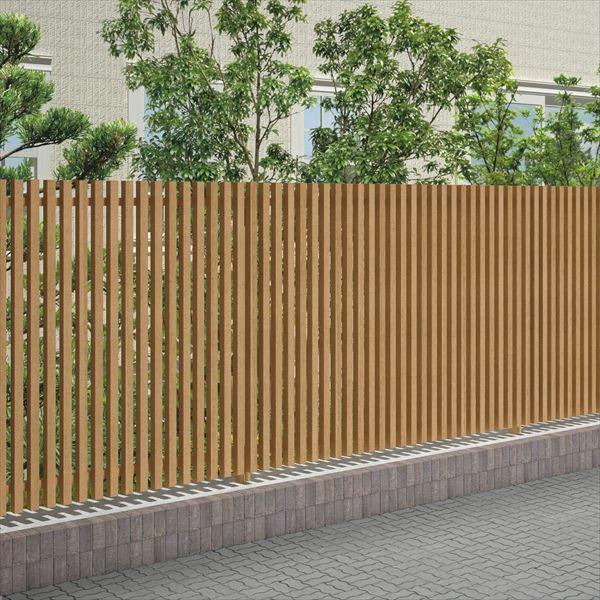 四国化成 スクリーンフェンス アレグリアフェンスTL1型 本体 AGTL1-2020 『アルミフェンス 柵』 ライトブラウン