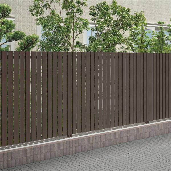四国化成 スクリーンフェンス アレグリアフェンスTL2型 本体 AGTL1-2020 『アルミフェンス 柵』 セピアブラウン