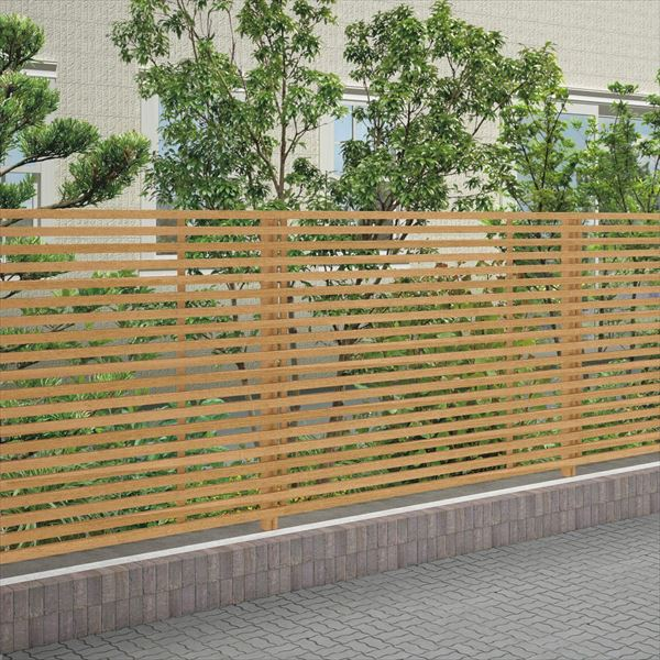 四国化成 スクリーンフェンス アレグリアフェンスTL3型 本体 AGTL3-1820 『アルミフェンス 柵』 ライトブラウン
