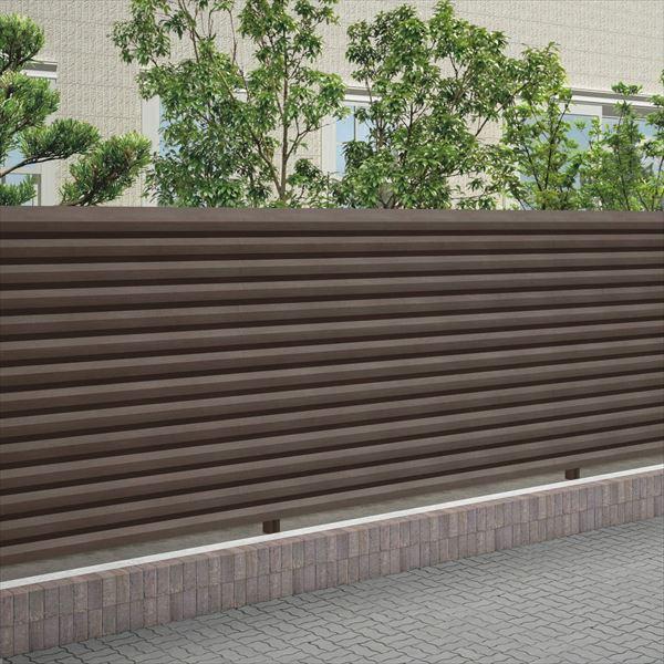 四国化成 スクリーンフェンス アレグリアフェンスTL5型 本体 AGTL5-1620 『目隠しルーバー アルミフェンス 柵』 セピアブラウン