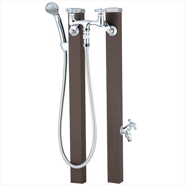 ユニソン スプレスタンド60 混合栓セット 『立水栓セット(蛇口付き)』 JIS認定品 マットブラウン