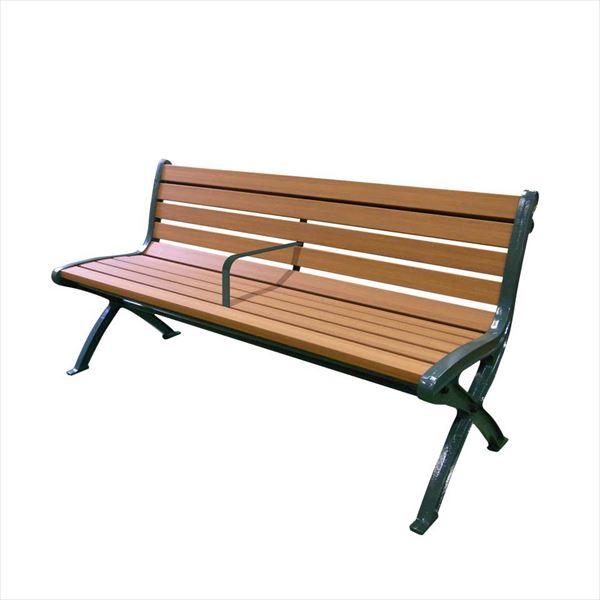 ミヅシマ工業 リサイクルベンチSB5 背付 SB5-SW 249-0170 『ガーデンベンチ・公共向け』