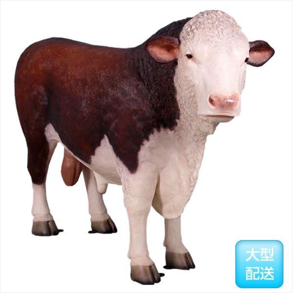 FRP ヘルフォードの雄牛 / Hereford Bull 『動物園オブジェ アニマルオブジェ 店舗・ホテル向け』