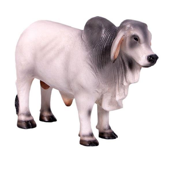 FRP ミニバラモン牛・グレイ / Brahman Mini 『動物園オブジェ アニマルオブジェ 店舗・ホテル向け』