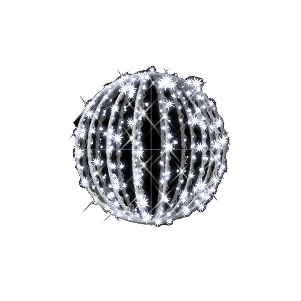 タカショー MKイルミネーション 3Dモチーフ メリディア 50cm 折りたたみ式 フラッシュ MKJ-N12W #69475400 『エクステリア照明 ライト』 白
