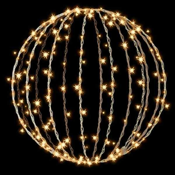 タカショー MKイルミネーション 3Dモチーフ メリディア 80cm 折りたたみ式 フラッシュ MKJ-515C #69423500 『エクステリア照明 ライト』 電球色