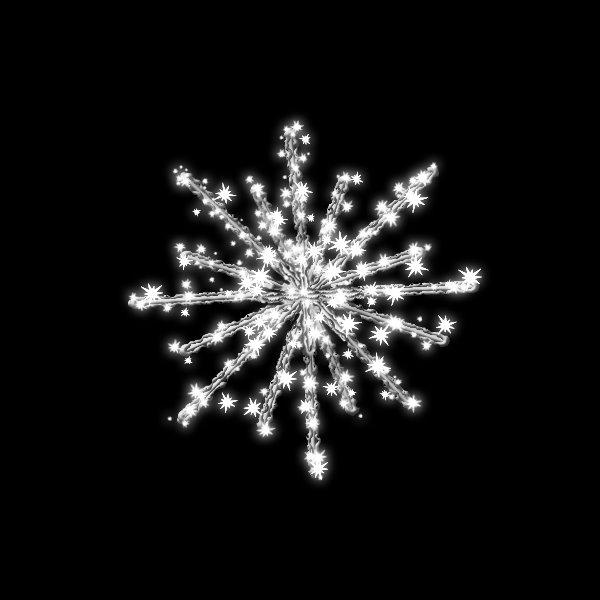 タカショー MKイルミネーション 3Dモチーフ スノーボール 60cm MKJ-710W #69489100 『エクステリア照明 ライト』 白