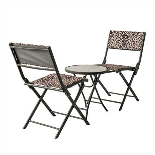 杉田エース パティオ・プティ パンテール テーブル×1、チェア×2セット PANTHERE 『ガーデンテーブルセット ガーデンファニチャー』