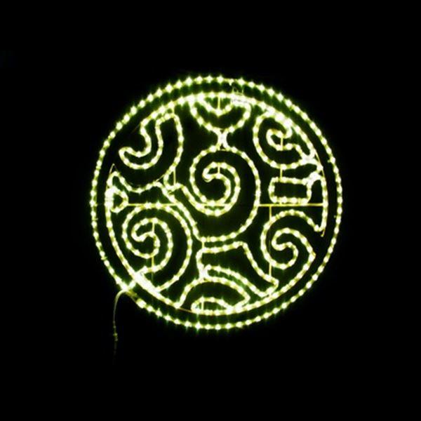 コロナ産業 2Dモチーフ LED デザインサークル L2DM296 『イルミネーションライト』