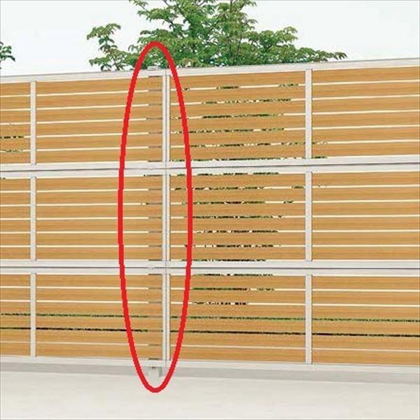 リクシル 新日軽 セレビューフェンス用3段柱 控え柱なし・75角用 3段自在柱(75角) 高さ:2700用