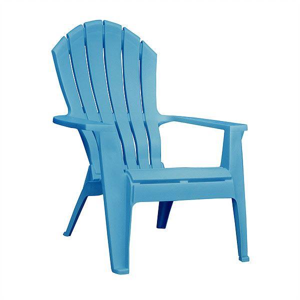 TOSHO ガーデンチェアー アディロンダック アメリカ製 プラスチック素材 #8371-21-3700 プールブルー