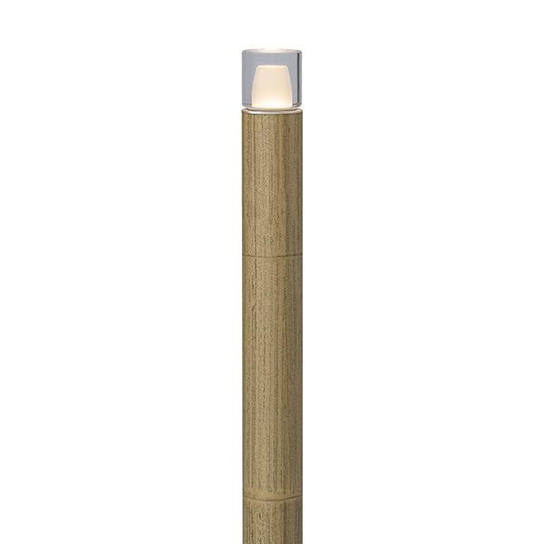 タカショー エバーアートポールライト 5型 100V 拡散光 ガラスブロック HFD-D63G #75108200 ゴマ竹