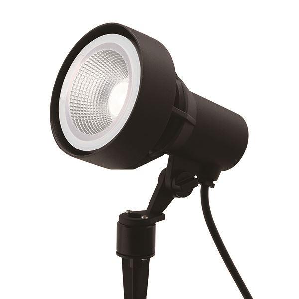 タカショー ガーデンアップライト 100V シンプルLED スポットライト3型 中角 照明:白 HFE-W60K #71458200 ブラック