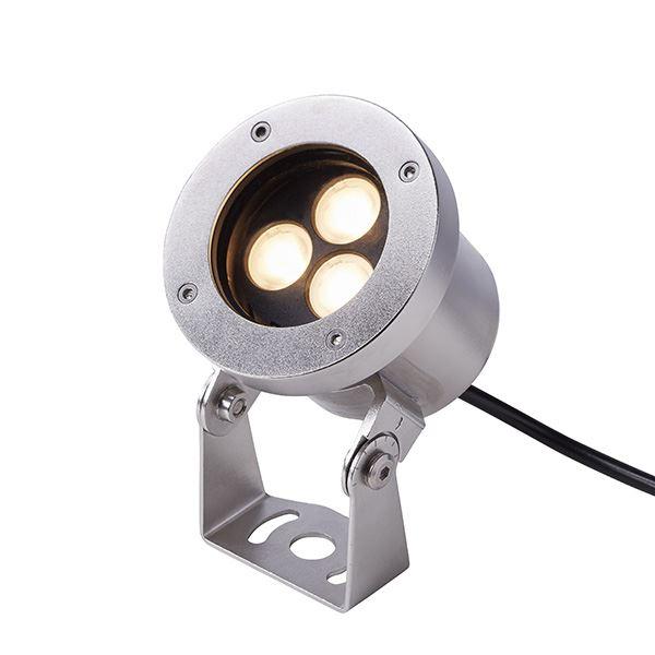 タカショー ウォーターライト ローボルト ウォーターアップライト 3型 照明:電球色 HHA-D11S #75146400 シルバー