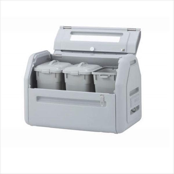 四国化成 ゴミストッカーEPシリーズ GSEPA40B-LG EP400 内容器付 アンカータイプ 『ゴミ収集庫』『ダストボックス ゴミステーション 屋外』『ゴミ袋(45L)集積目安 9袋、世帯数目安 4世帯』 内容器付