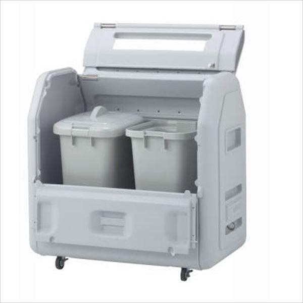 四国化成 ゴミストッカーEPシリーズ GSEP65B-LG EP650 内容器付 キャスタータイプ 『ゴミ収集庫』『ダストボックス ゴミステーション 屋外』『ゴミ袋(45L)集積目安 14袋、世帯数目安 7世帯』 内容器付