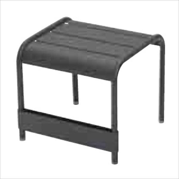 ニチエス FERMOB フェルモブ ルクセンブールテーブル 42×43 47アンスラサイト